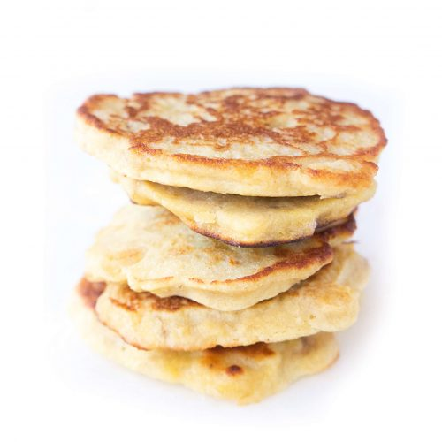 Mini 2-ingredient pancakes