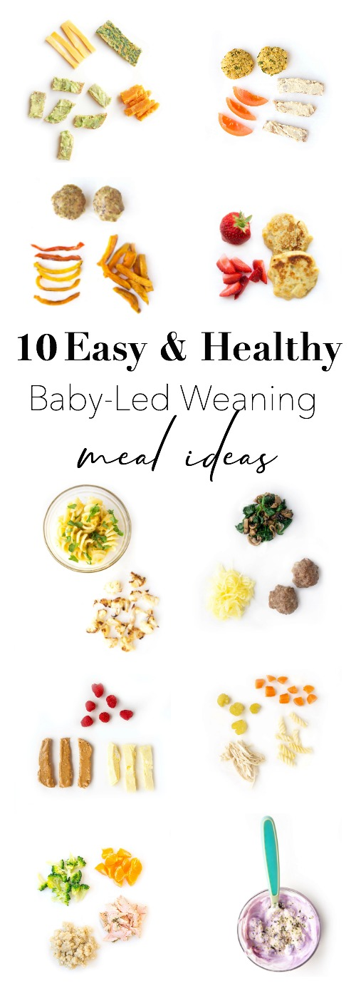 Easy & Healthy Baby-Led Weaning Meal Ideas