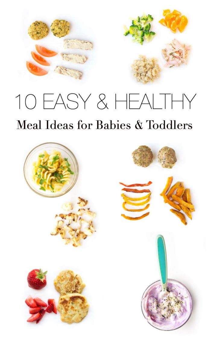10 Easy & Healthy Baby-Led Weaning Meal Ideas
