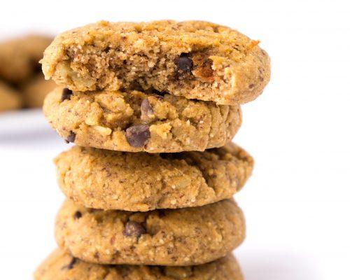 Almond, Coconut & Chocolate Cookies