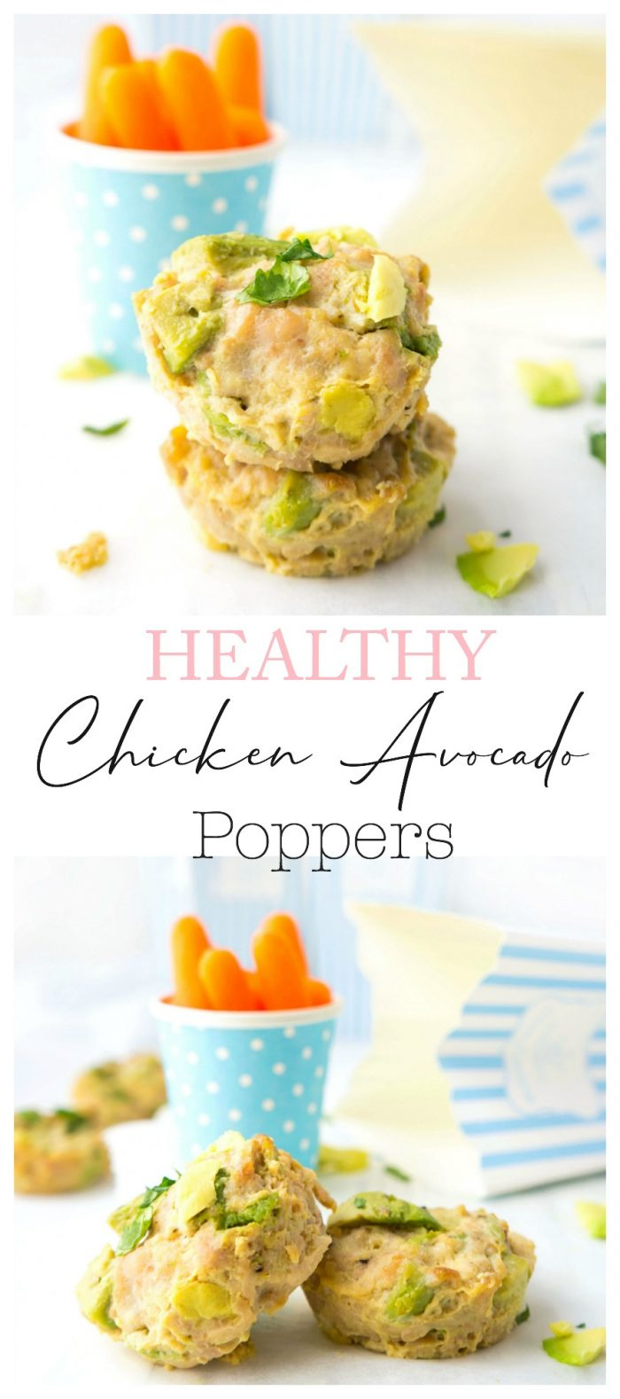 Chicken Avocado Poppers