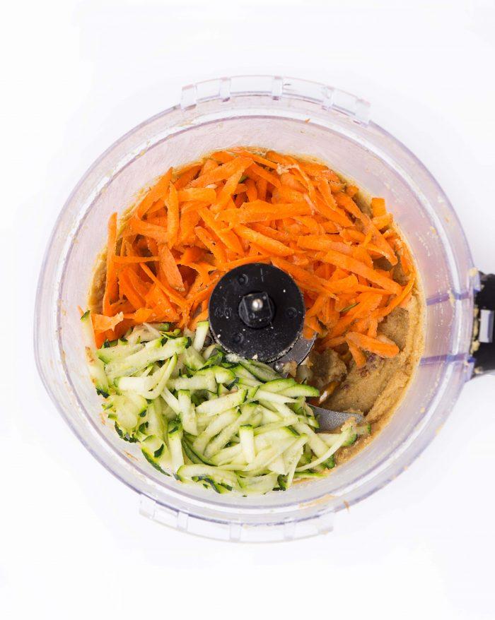 Mini Carrot Zucchini Muffins