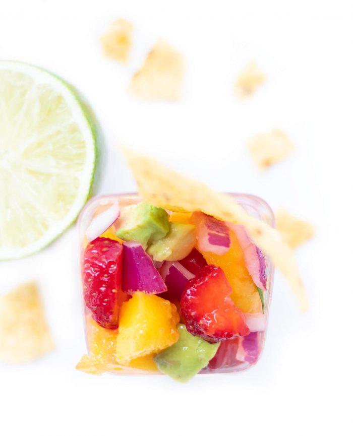 Strawberry Mango Avocado Salsa