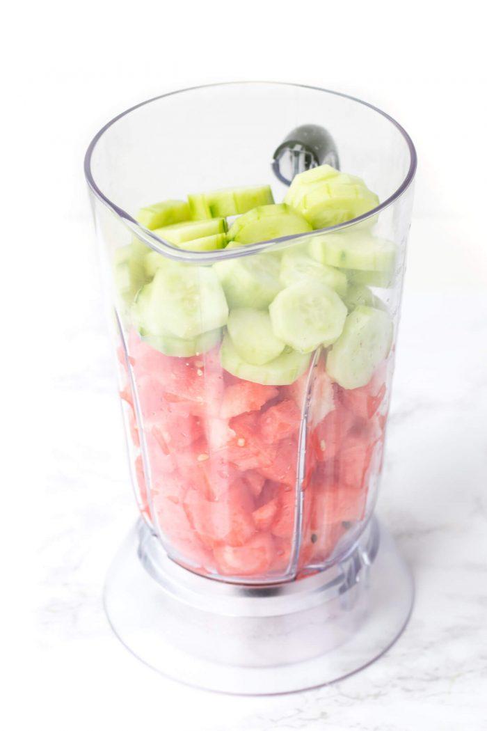 Watermelon Cucumber Spritzer