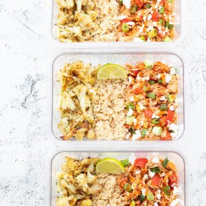 Buffalo Chicken Meal Prep