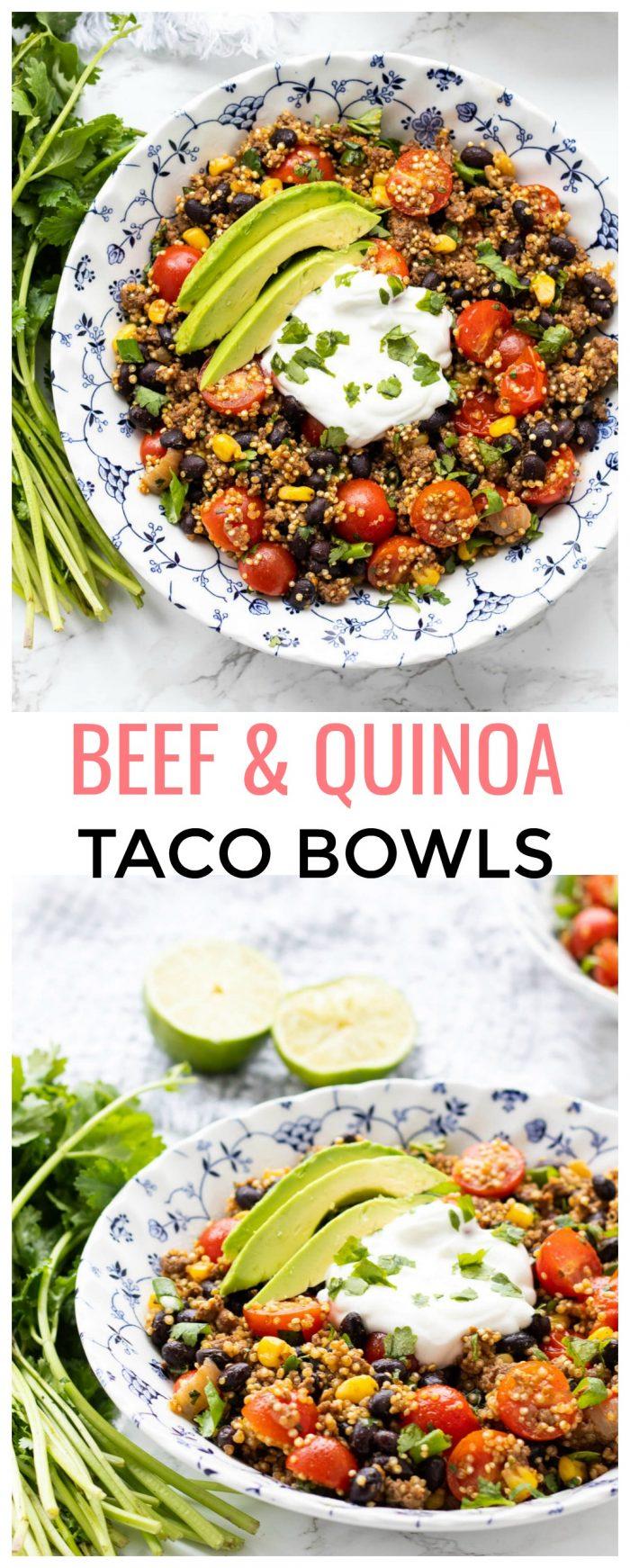 Tex-Mex Quinoa Taco Bowl