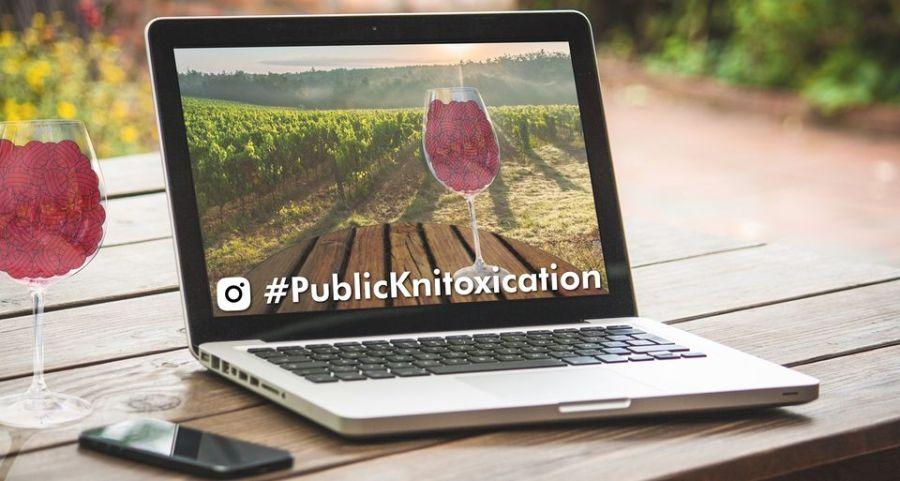 Knitoxication Logo