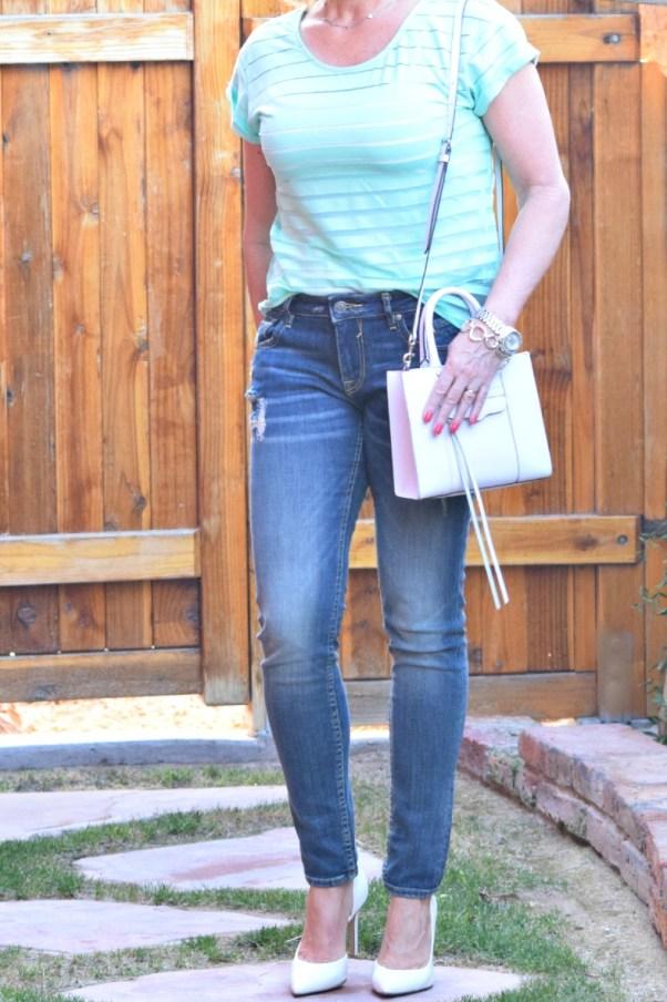 mint jeans crop 048