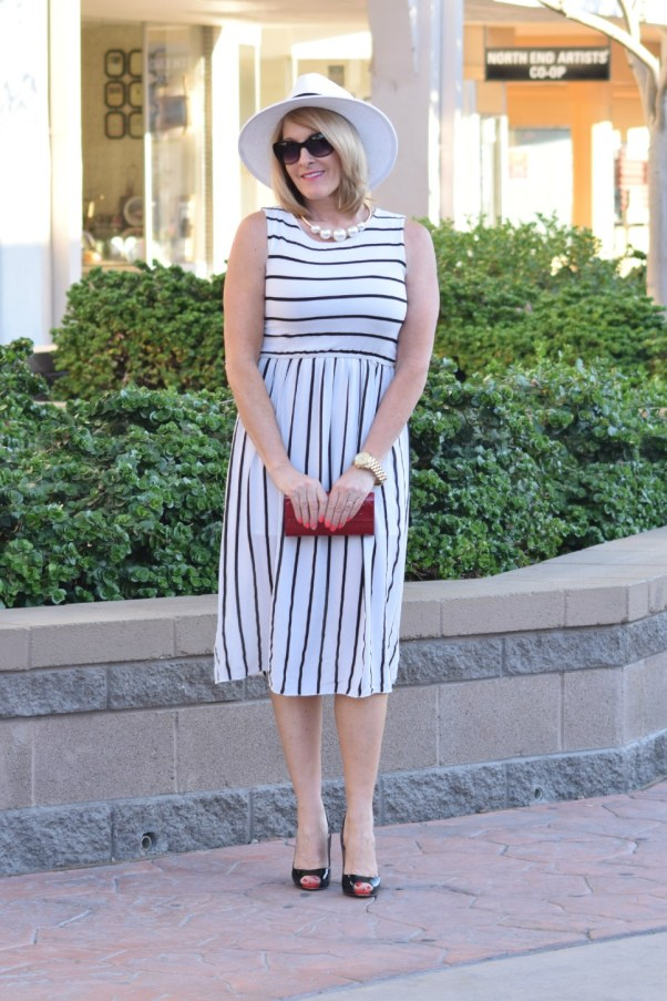 Striped Dress 031
