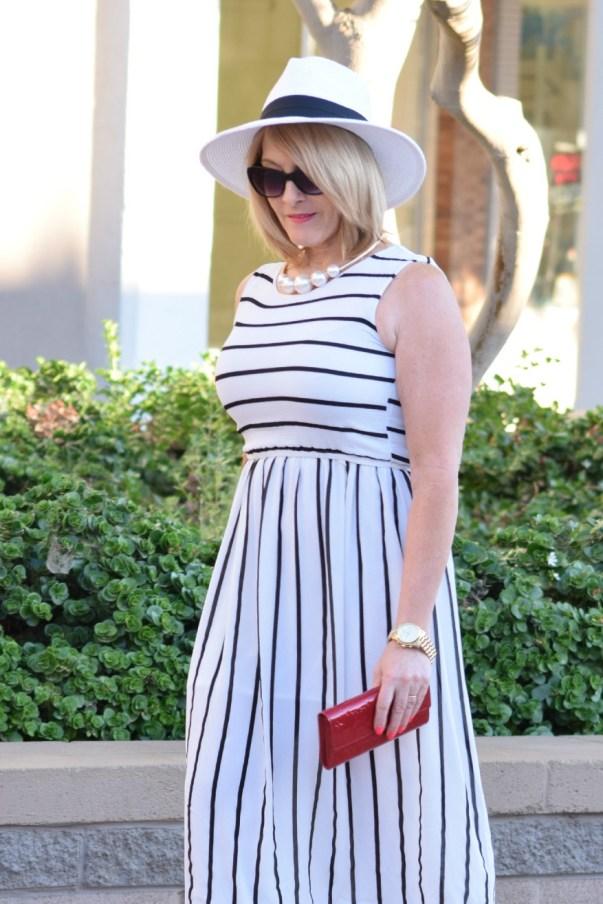 Striped Dress 062