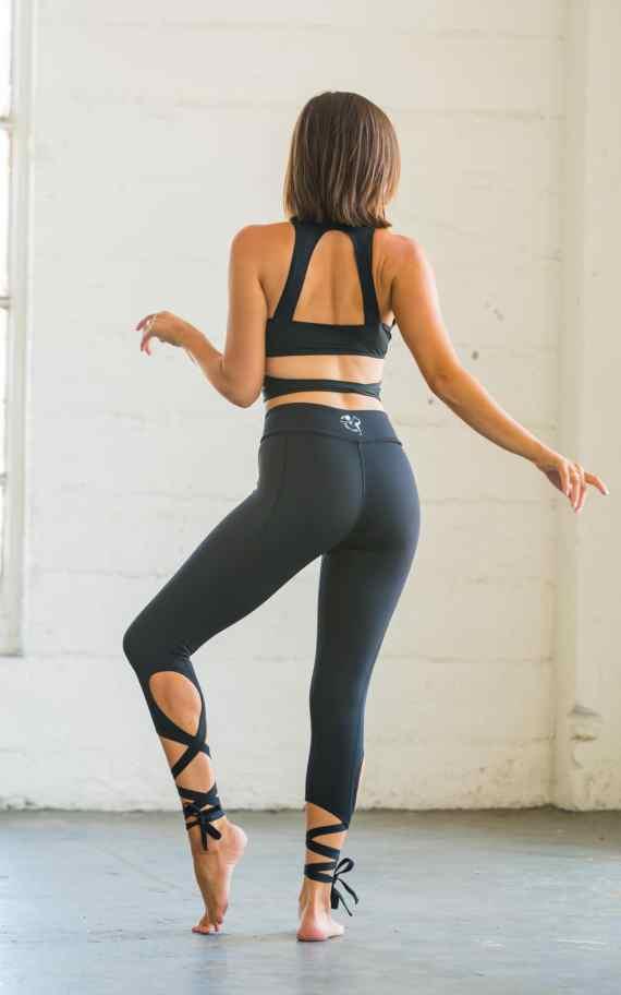Flexi Lexi Black Dancer Leggings