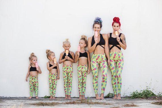 Flexi Lexi Ice Ice Ice-Cream Baby Flexi Kids Tights
