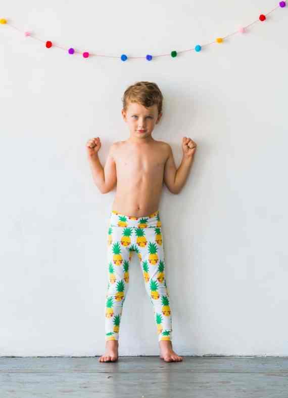 Pineapple Flexi Kids Tights