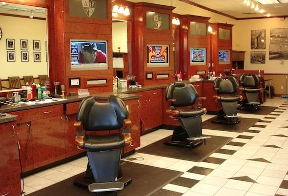 Sports Themed Men S Haircut Shop Opens On 76th Street