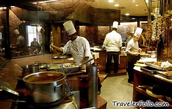 Award Winning Bukhara Restaurant Of ITC Maurya Hotel In