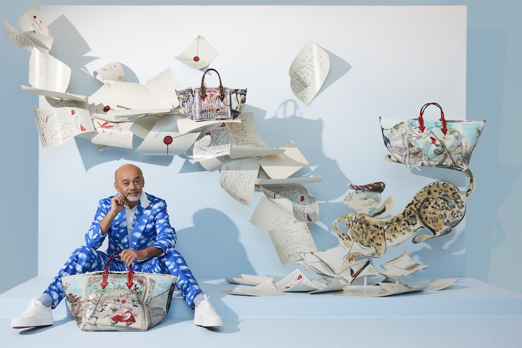 Christian Louboutin partnered with best artist 1