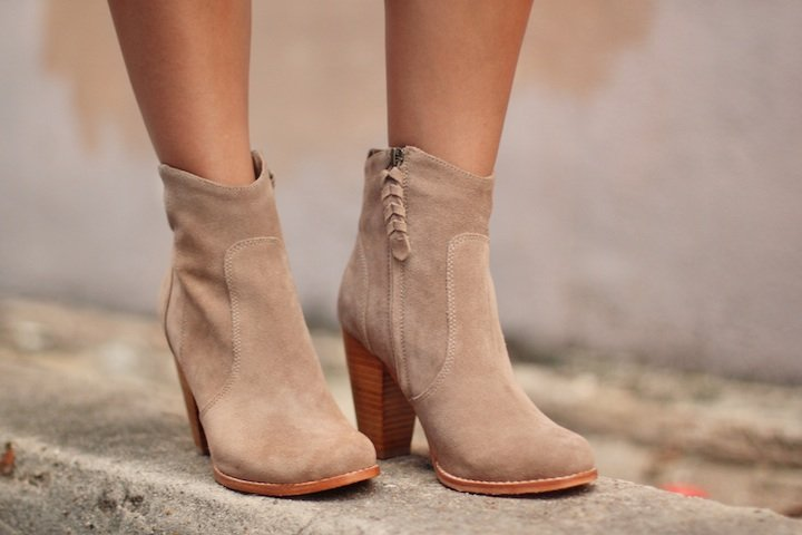 Ankle Taupe Booties What Wear
