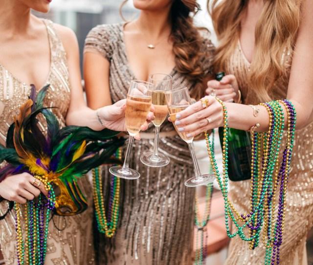 Mardi Gras Ball Gowns