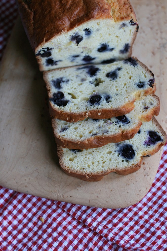 Blueberry Orange Bread | Haute Pepper Bites