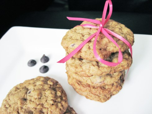 An Dyer's Oatmeal Chocolate Chip Cookie Recipe