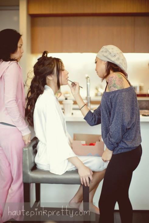 Brandon Kidd Photography of An Dyer Wedding Makeup by Rita Nguyen