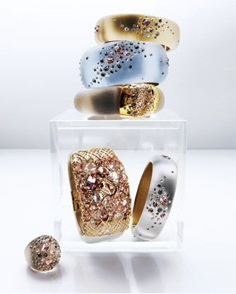 Alexis Bittar Hand-Sculpted Lucite Jewelry
