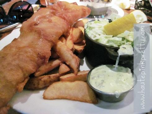 Todd English P.U.B. New England Fish & Chips