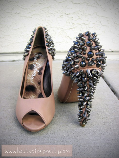 An Dyer's Sam Edelman Lorissa Nude Leather