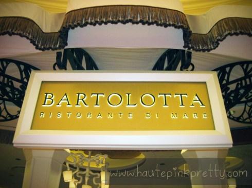 Bartolotta Ristorante Di Mare at the Wynn Las Vegas