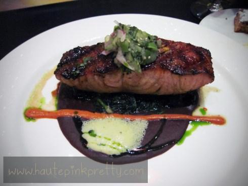 Bobby Flay's MESA Grill Ancho Chile Honey Glazed Salmon