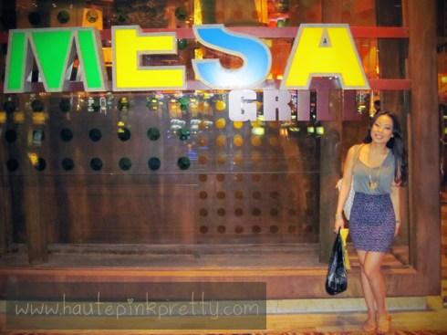 An Dyer at Bobby Flay's MESA Grill Caesars Palace Las Vegas