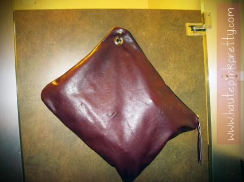 Jeffrey Lazaro Handmade Chocolate Leather Bag