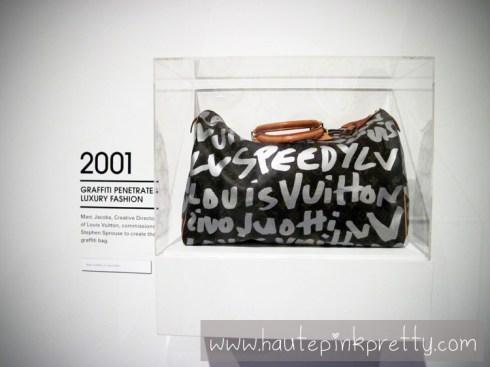 MOCA ART IN THE STREETS Louis Vuitton Marc Jacob Graffiti Speedy