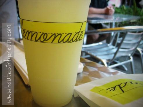 MOCA lemonade