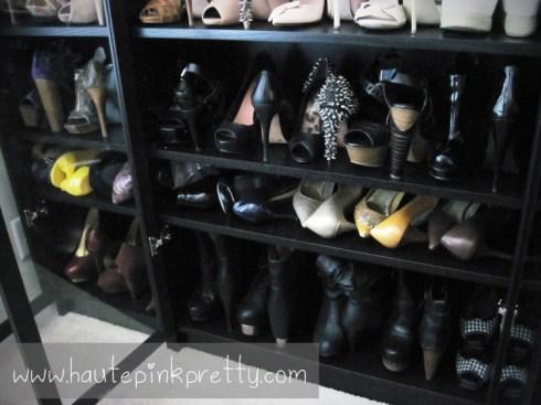 Inside An Dyer's Shoe Closet Dark Shoes
