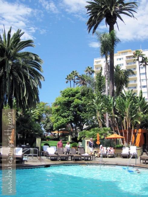 FIG Fairmont Miramar Hotel Santa Monica View
