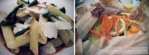 Bottega Louie Trenne Pasta and King Salmon