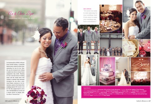 An and Chris Dyer - San Diego Style Weddings Magazine