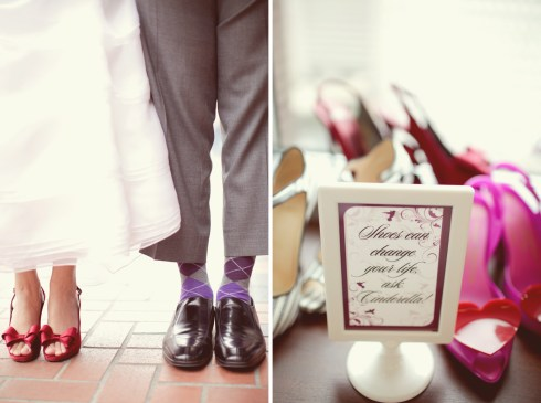 Dyer Wedding - Shoes Can Change Your Life