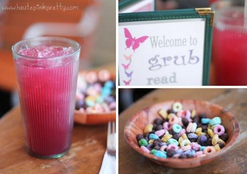 Grub Blueberry Lemonade & Cereal