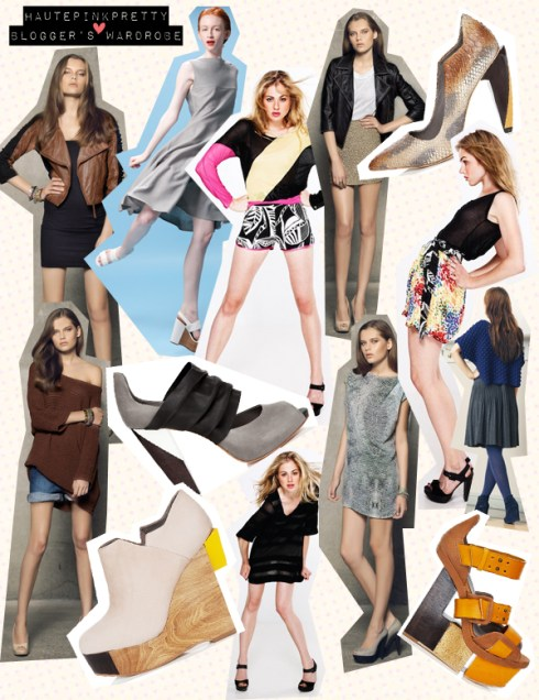 hautepinkpretty x blogger's wardrobe