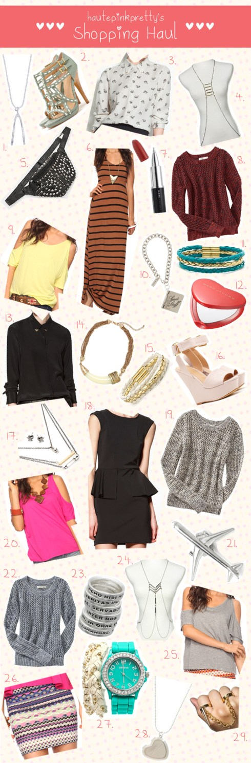 HautePinkPretty Retail Therapy - March Shopping Haul