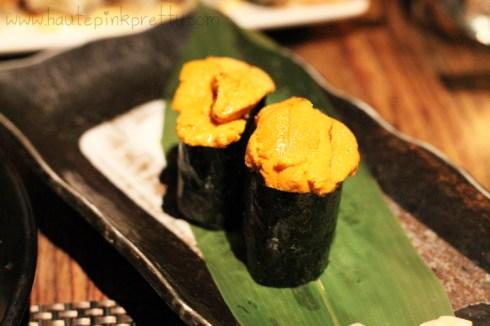 Sushi Roku Uni Sushi