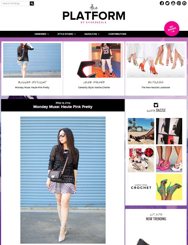 Monday Muse ShoeDazzle