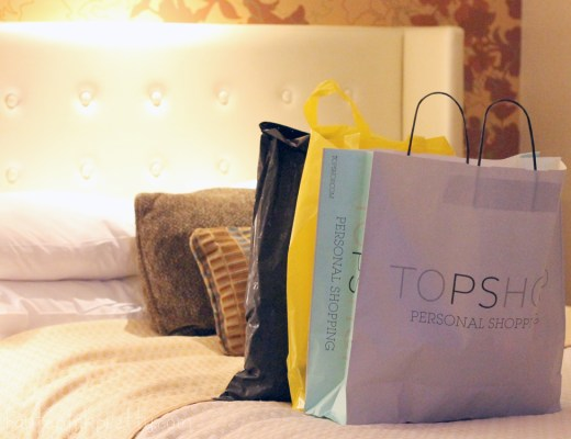 HautePinkPretty Vegas Shopping Haul - TopShop Forever 21 and Zara - Bellagio Hotel Room