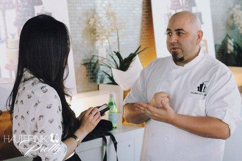 An Dyer at the Duff Goldman x Godiva - Limited Edition Cake Truffle Press Event - Interview