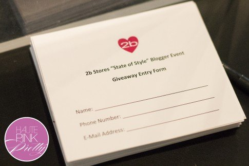 2b by bebe Blogger State of Style Soiree - Giveaway Form
