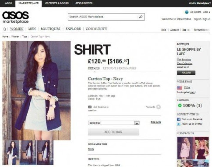 HautePinkPretty on ASOS for the Los Angeles Fashion Council Le Shoppe