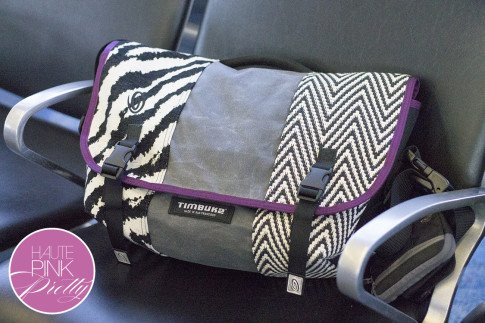 An Dyer HautePinkPretty Custom Designed Timbuk2 Messenger Laptop Bag Made in SF
