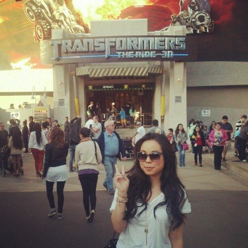 A spontaneous trip to Universal Studios this past weekend! I love that you get an annual pass upgrade with general admittance. The Transformers ride was awesome!